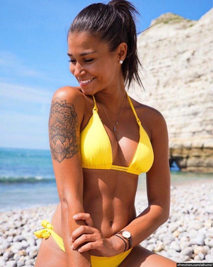 Photos Inès Loucif nue et sexy | Inès koh lanta n°18