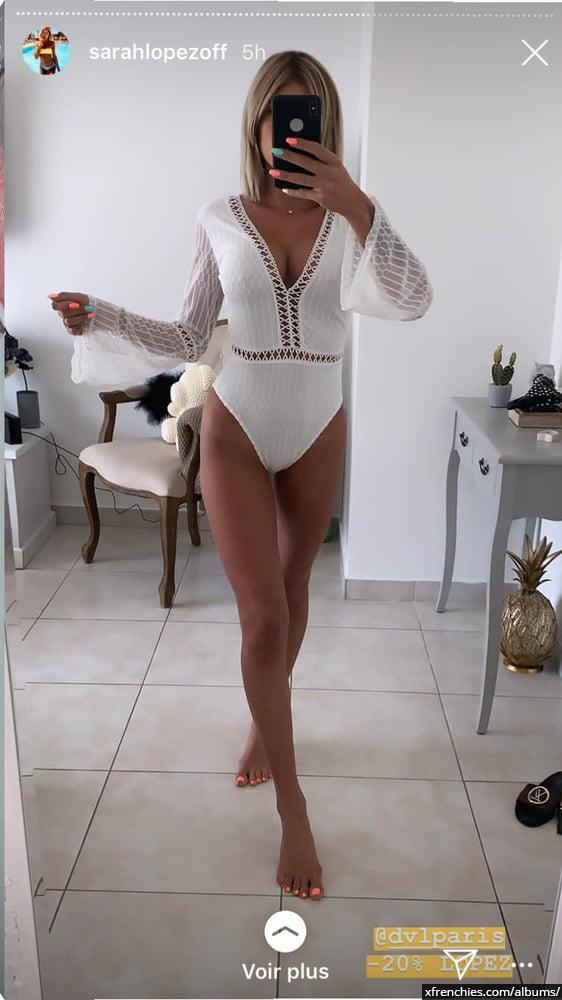 Sarah Lopez des anges, photos sexys en lingerie et sous-vêtements n°47